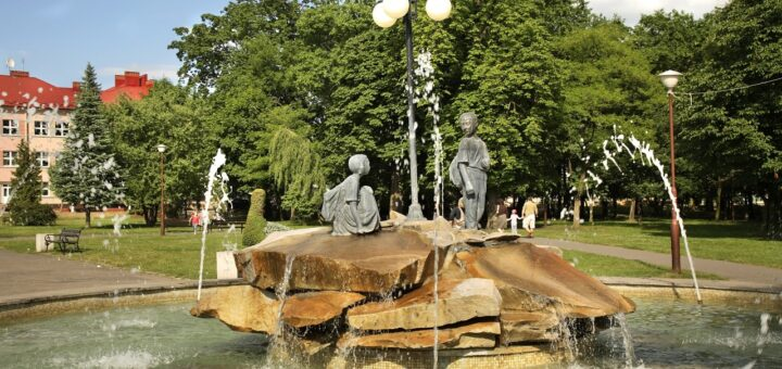 fontanna w Janowie Lubelskim